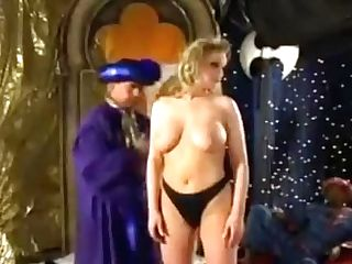 Incredible Old School Adult Movie Star With Natural Milk Cans Comes...