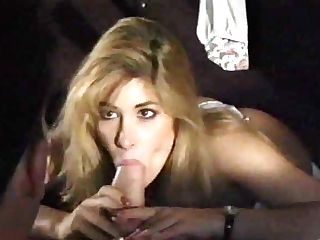 Supah Hot Blonde Taunting Dick With Her Tongue - Antique Clip