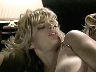 Buxomy Blonde Gets Her Muff Eaten And Fucked In Missionary Position
