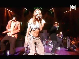 Hot Fergie Belly Dancing