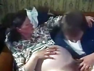 Hairy Preggo Woman Gets Fucked